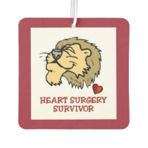 Heart Surgery Survivor Lion Air Freshener