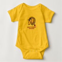 Heart Surgery Survivor Lion Baby Bodysuit
