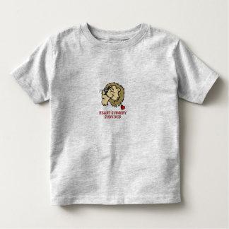 Heart Surgery Survivor Lion Toddler T-shirt