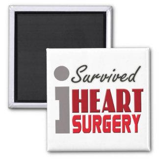 Heart Surgery Survivor Magnet