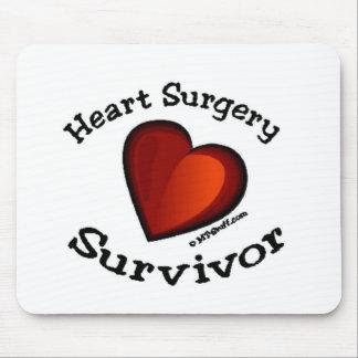 Heart Surgery Survivor Mouse Pad