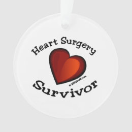 Heart Surgery Survivor Ornament