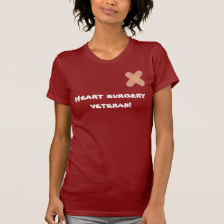 heart surgery veteran T-Shirt