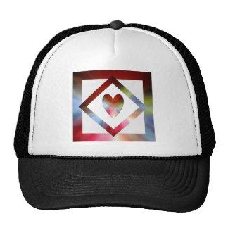 Heart Suspended Trucker Hat