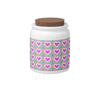Heart SweetHeart Pink Collection gifts Candy Dishes