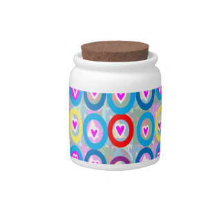 Heart SweetHeart Pink Collection gifts Candy Jar