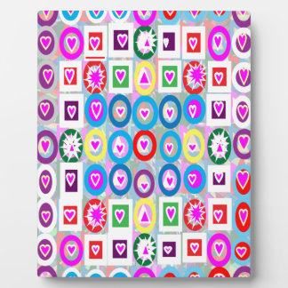 Heart SweetHeart Pink Collection gifts Display Plaque