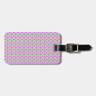 Heart SweetHeart Pink Collection gifts Luggage Tag