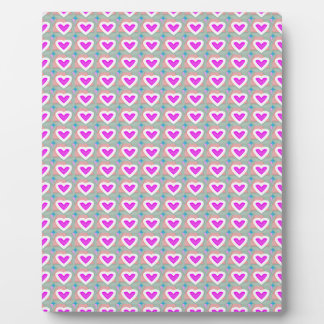 Heart SweetHeart Pink Collection gifts Plaque