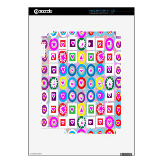 Heart SweetHeart Pink Collection gifts Skin For The iPad 2