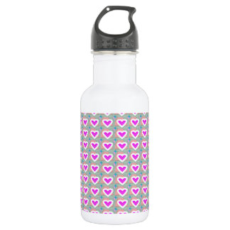 Heart SweetHeart Pink Collection gifts Stainless Steel Water Bottle