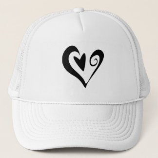 HEART SWEETNESS LOVE FRIENDSHIP GIRLY PINK CUTE TRUCKER HAT