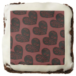 Heart Swirl Brownie