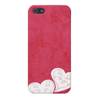 Heart Swirl Grunge Pink  Case For iPhone SE/5/5s
