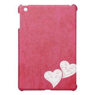 Heart Swirl Grunge Pink  Case For The iPad Mini