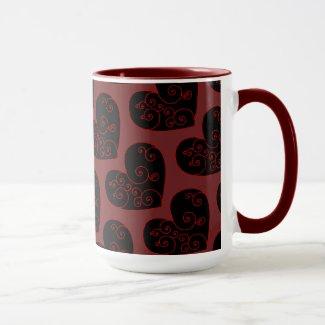 Heart Swirl Mug