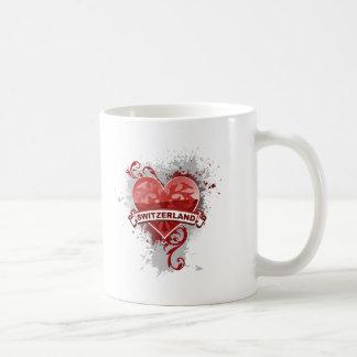 Heart Switzerland Mugs