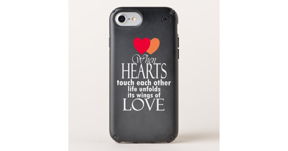 Heart Symbol Love Famous Quote On Iphone Cases Zazzle