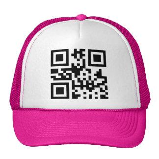Heart ♥ Symbol -- QR Code Mesh Hat