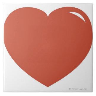 Heart Symbol Ceramic Tiles
