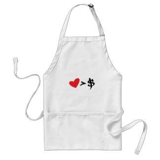 heart t apron