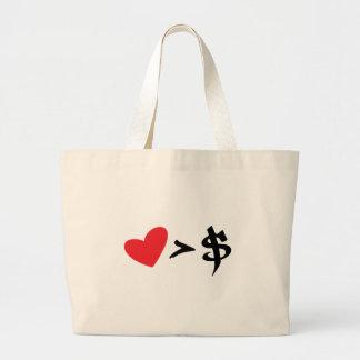 heart t bag