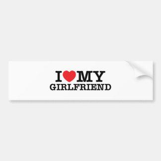 Heart t bumper sticker