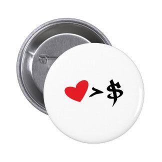 heart t buttons
