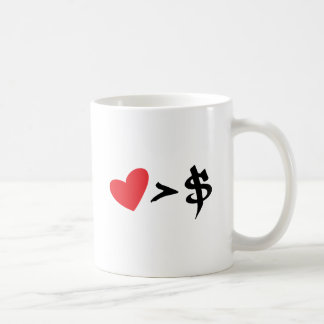heart t coffee mugs