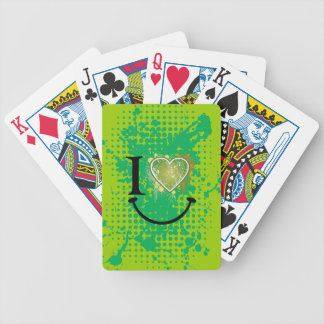 Heart t heart playing cards