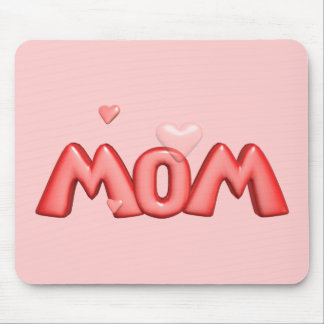 Heart T-shirts and Gifts For Mom Mouse Pad