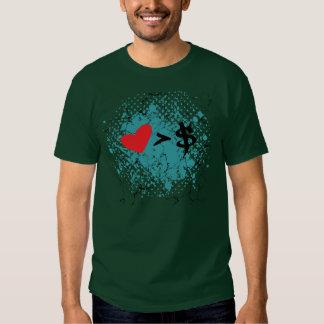 Heart t tee shirt
