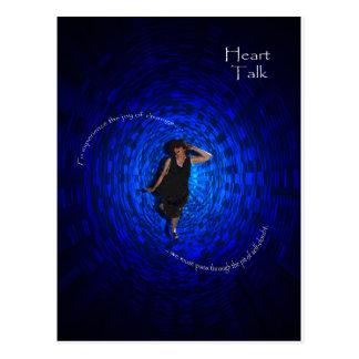 Heart Talk - Change Postcard