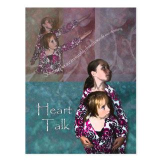Heart Talk - Destiny Postcard