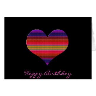 Heart Tapestry Design Card