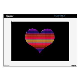 Heart Tapestry Design Laptop Skins