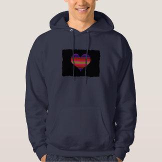 Heart Tapestry Design Sweatshirt