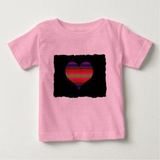 Heart Tapestry Design T-shirt