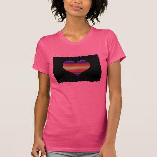 Heart Tapestry Design T Shirt
