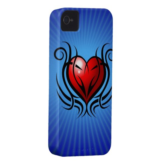 Heart Tattoo iPhone 4 Case