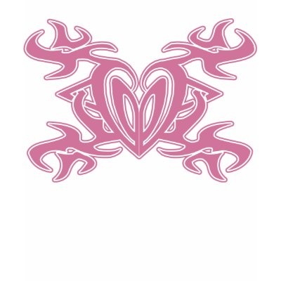 Heart Tattoo Pink