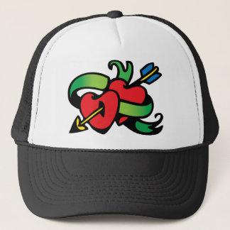 Heart Tattoo Trucker Hat
