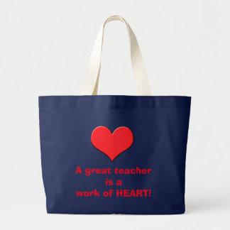 Heart Teacher's Bag