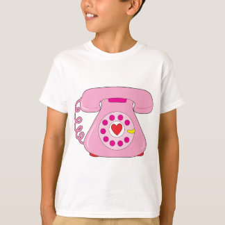 Heart Telephone T-Shirt