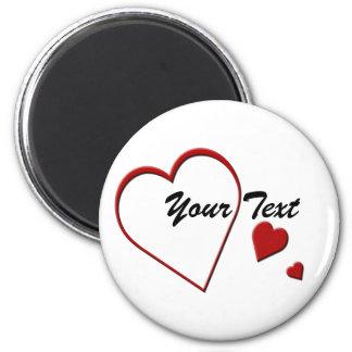 Heart Template Magnet
