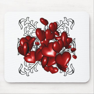 Heart Templt Mouse Pad