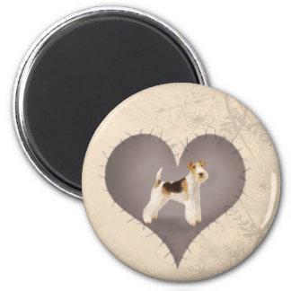 Heart Terrier Magnet