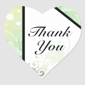 Heart Thank You Seal Bubble Star Fairy Tale Stickers