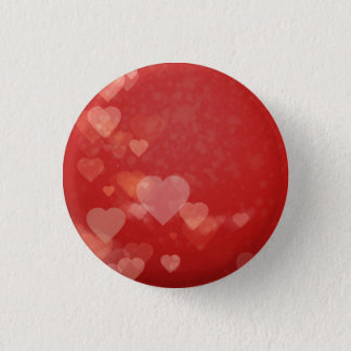 Heart Theme Romantic Badge Button