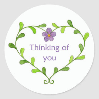 Heart Thinking of You sticker